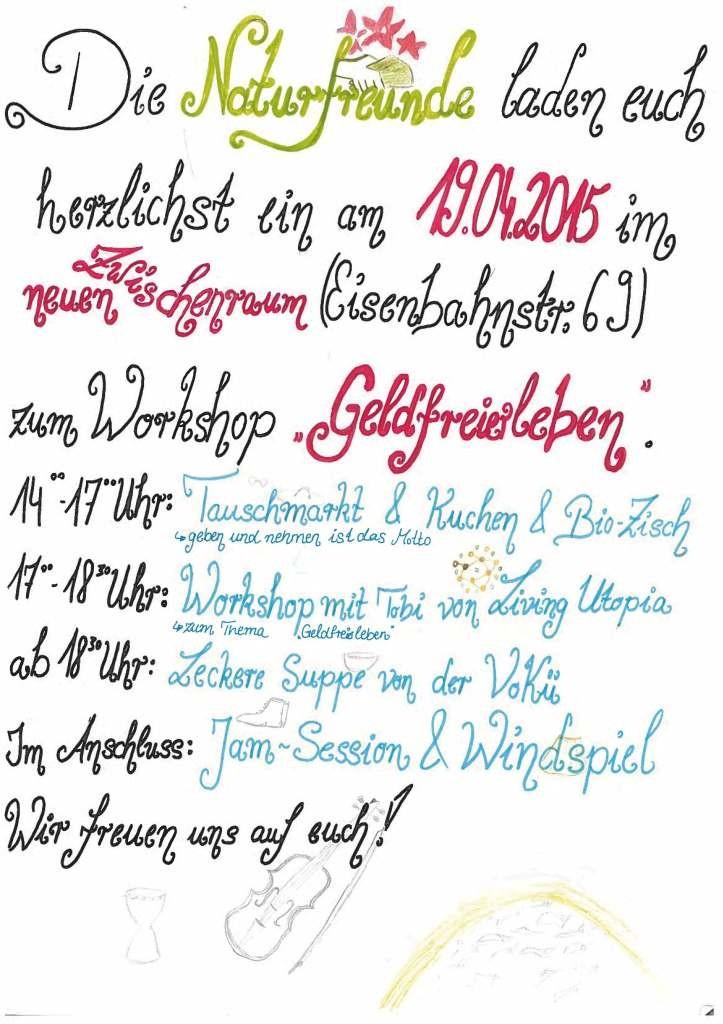 GeldfreiLeben-Plakat