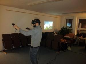 Erster VR-Abend