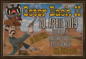 Tabletop Oster Bash 2 @ Hebewerk e.V.
